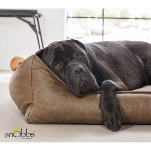 snObbs Dog Bed Buffalo Cowboys Brown