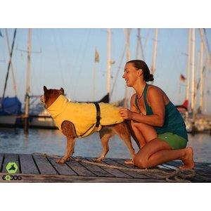 EQDOG Dog Bathrobe Doggy Dry Yellow