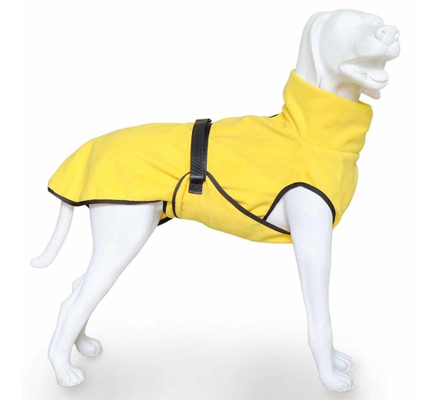 Hondenbadjas Doggy Dry Geel