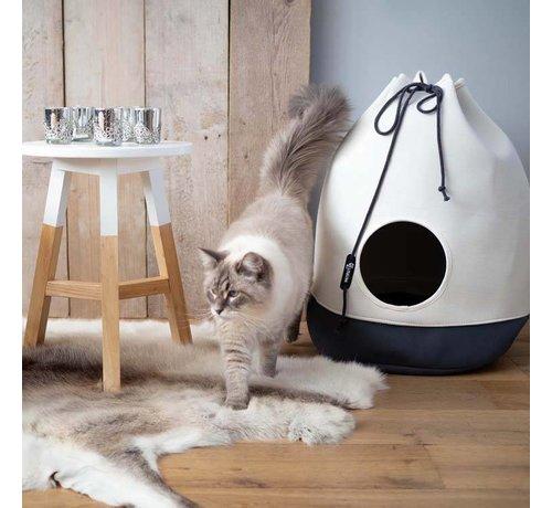 District70 Cat Bed Casa Dark Grey