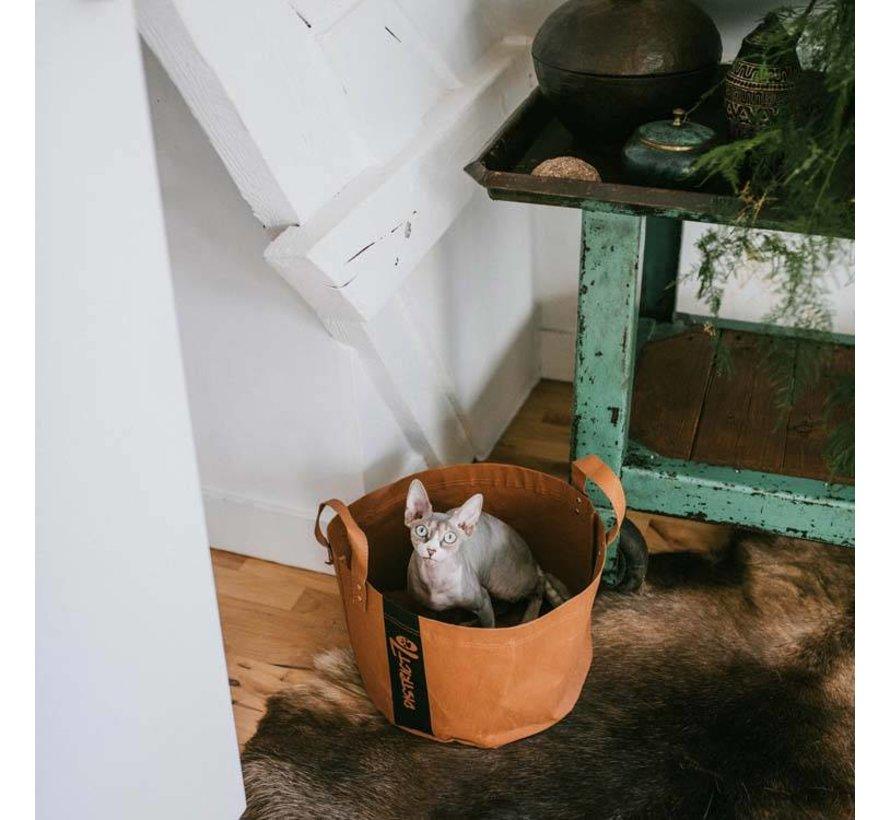 Kattenmand Paper Cognac