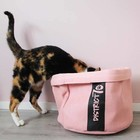 District70 Cat Bed Cozy Pink