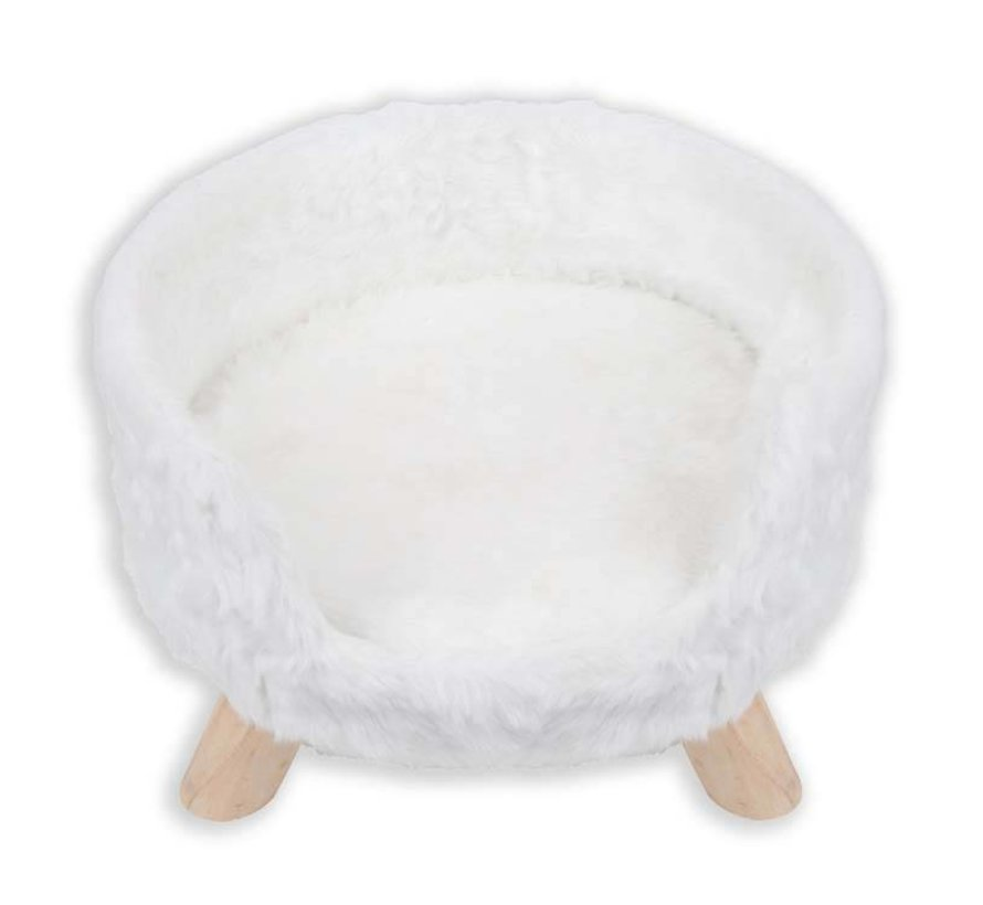 Cat Bed Nordic White