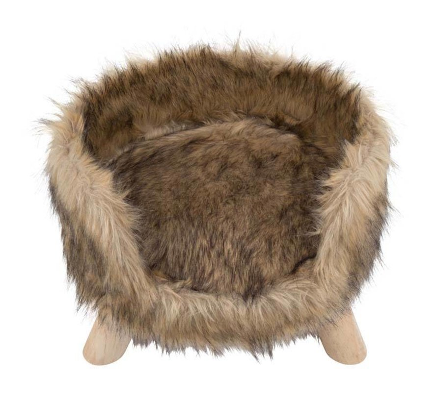 Cat Bed Nordic Mocca