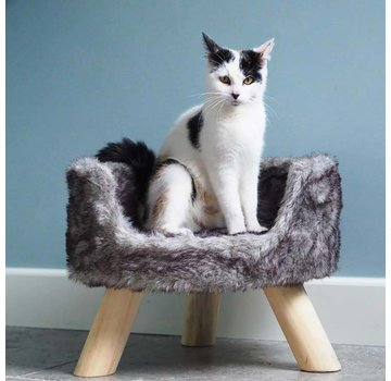 District70 Cat Bed Nordic Silver