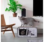 Cat Scratcher Sardine White