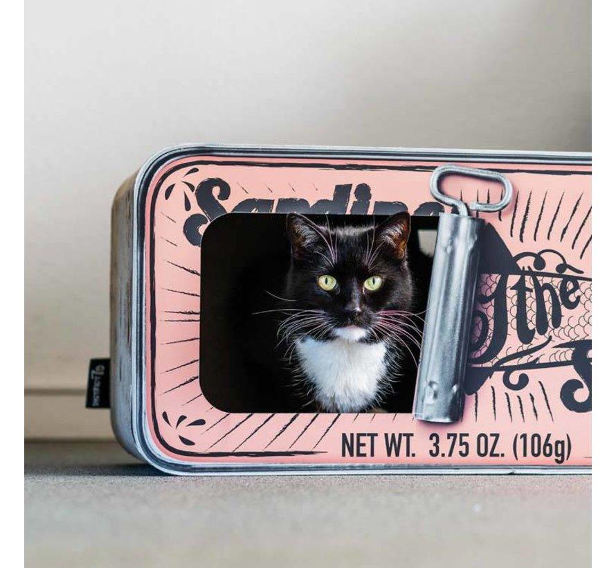 Cat Scratcher Sardine Peach