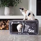 District70 Cat Scratcher Sardine Black