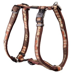 Rogz Dog Harness Mocha Bone