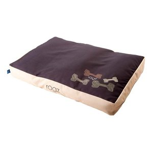 Rogz Dog Cushion Mocha Bone