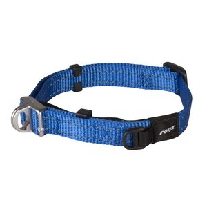 Rogz Dog Collar Safety Blue