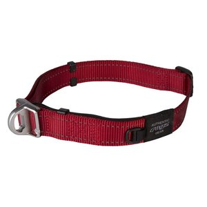 Rogz Dog Collar Safety Red