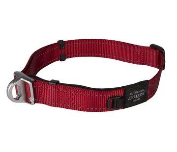 Rogz Hondenhalsband Safety Rood
