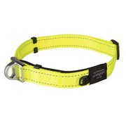 Rogz Dog Collar Safety Yellow