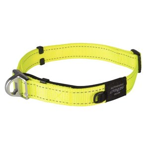 Rogz Dog Collar Safety Yellow
