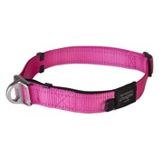 Rogz Dog Collar Safety Pink