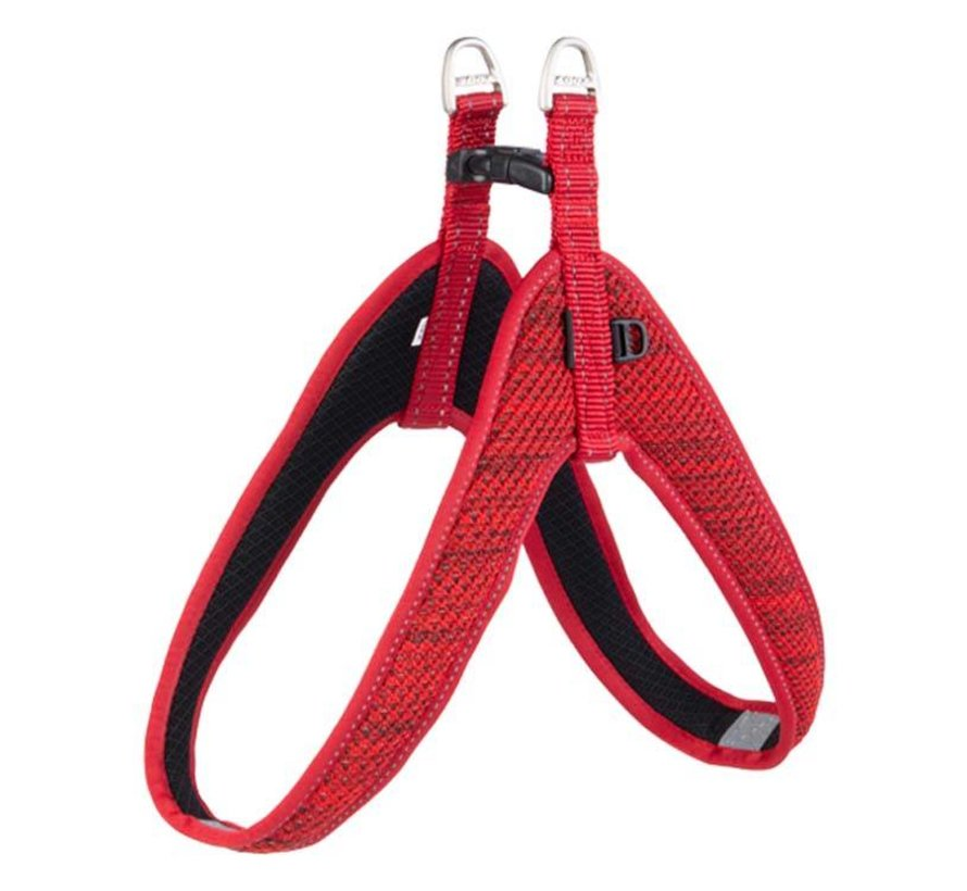 Dog Harness Fast Fit Red