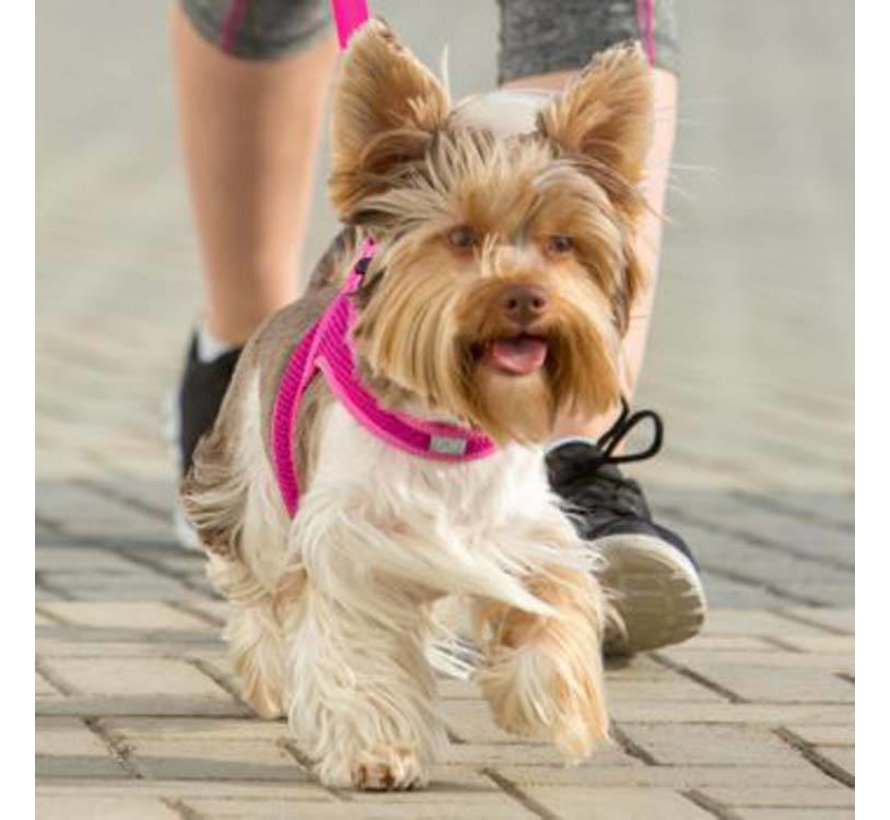 Dog Harness Fast Fit Pink