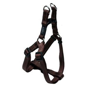 Rogz Dog Harness Utility Step In Brown