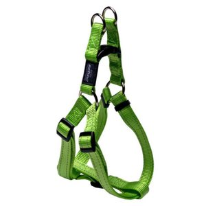 Rogz Dog Harness Utility Step In Lime