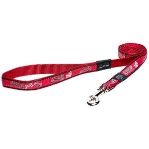 Rogz Dog Leash Red Bone