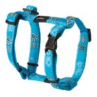 Rogz Dog Harness Turquoise Paws