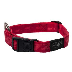 Rogz Dog Collar Alpinist Red