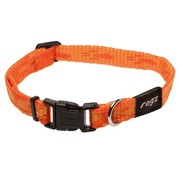 Rogz Dog Collar Alpinist Orange