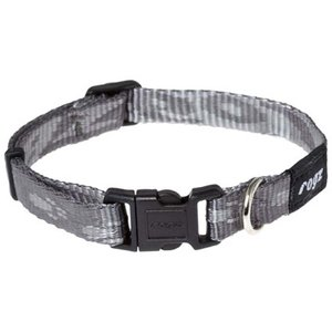 Rogz Dog Collar Alpinist Platinum