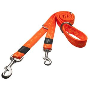 Rogz Dog Leash Multi Purpose Alpinist Orange