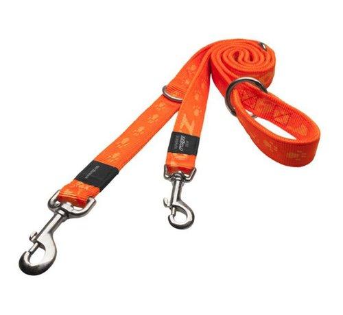 Rogz Hondenriem Multi Purpose Alpinist Oranje