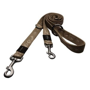 Rogz Dog Leash Multi Purpose Alpinist Gold