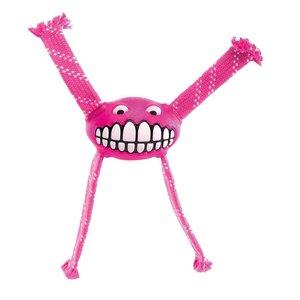 Rogz Dog Toy Flossy Grinz Pink