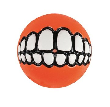 Rogz Dog Toy Grinz Orange