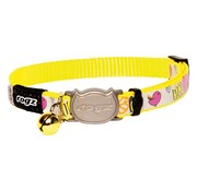 Rogz Cat Collar Reflectocat Dayglo Bird