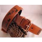 Heim Dog Collar Savanne Cognac