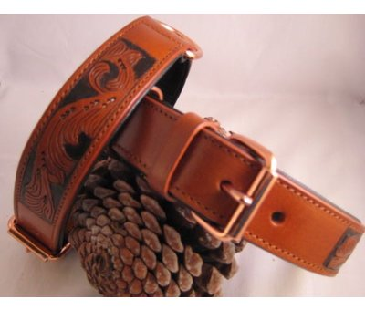 Heim Dog Collar Savanne Cognac