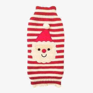 Wagytail Dog Sweater Santa