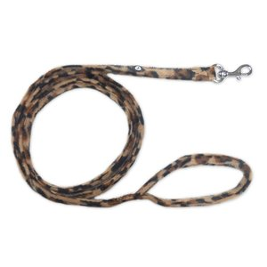 Doxtasy Dog Leash Leopard Brown