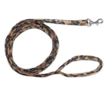 Doxtasy Dog Leash Leopard Brown