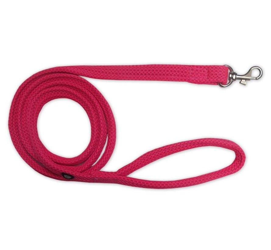 Dog Leash Mesh Fluo Pink