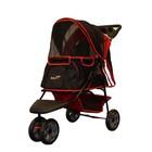 Innopet Pet Stroller All Terrain Red-Black