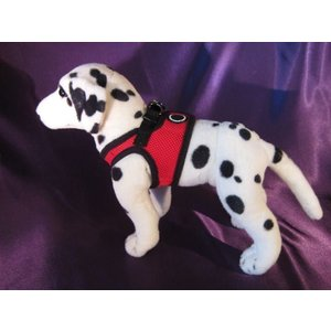Puppia Dog Harness Soft Vest Red