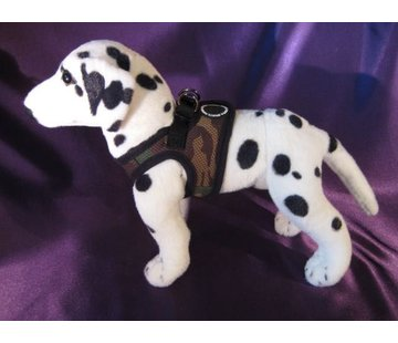 Puppia Dog Harness Soft Vest Camouflage