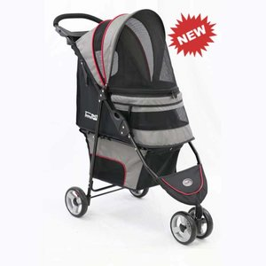 Innopet Pet Stroller Avenue Gray / Red