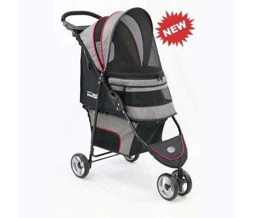 Innopet Pet Stroller Avenue Grey / Red