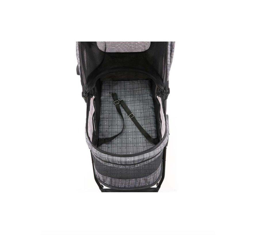 Pet Stroller Avenue Blended Grey