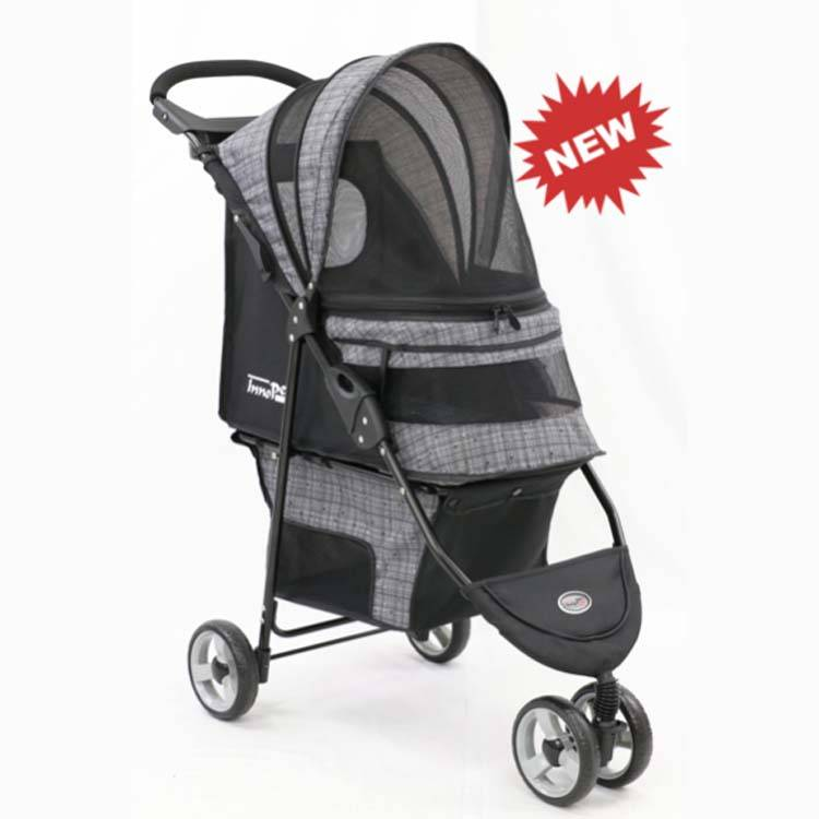 Hondenbuggy Avenue Blended Grey kopen