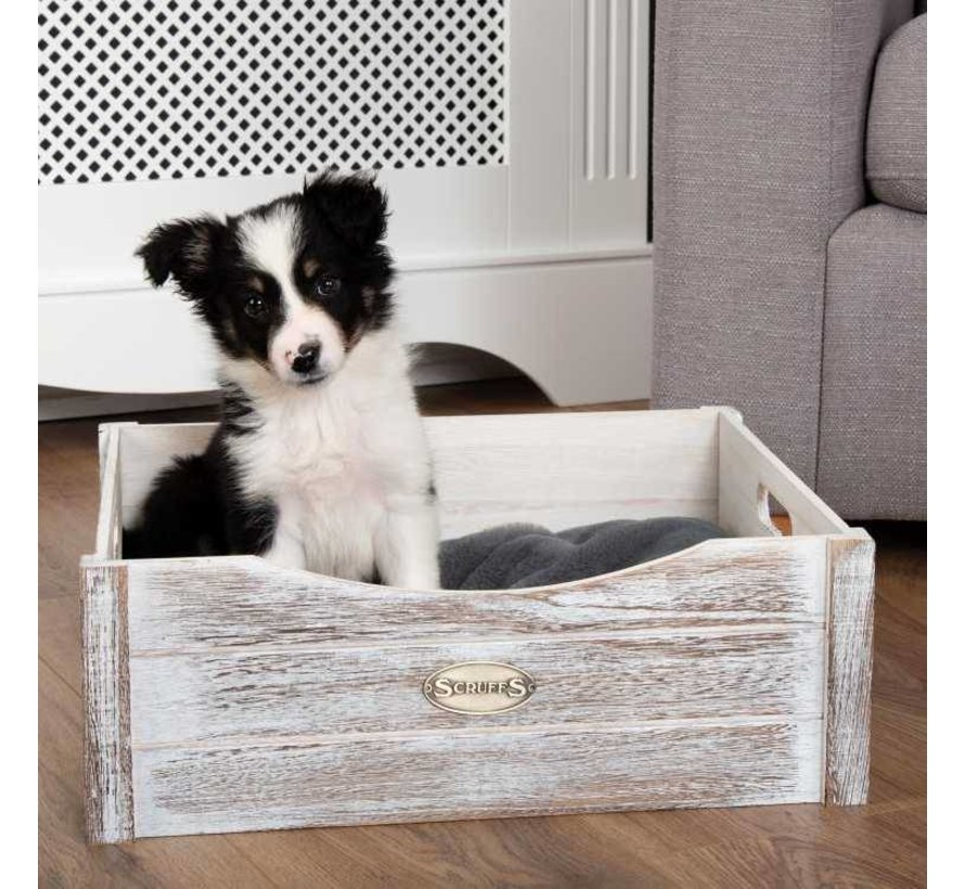 Dog Bed Rustic Wooden Bed Driftwood