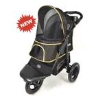 Innopet Pet Stroller All Terrain Black-Silver - Copy